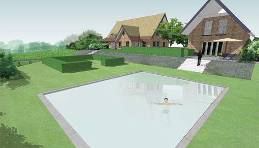 overzicht tuinprojecten Frank Fritschy gardendesign grote tuinen