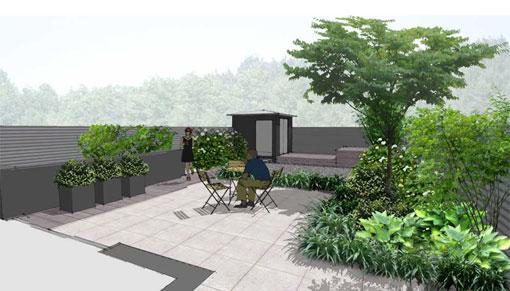 overzicht tuinprojecten Frank Fritschy gardendesign kleine tuinen