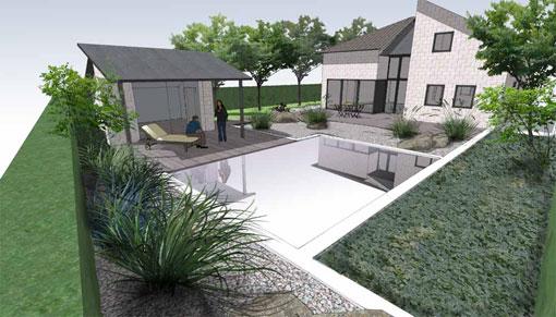 overzicht tuinprojecten Frank Fritschy gardendesign moderne tuinen
