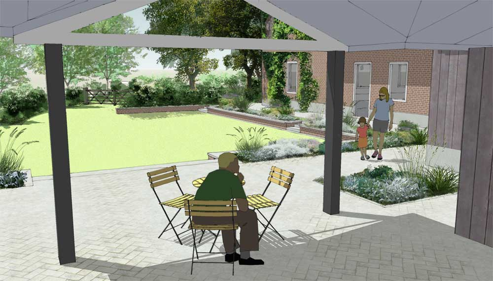 retro tuinen project geborgenheid 2