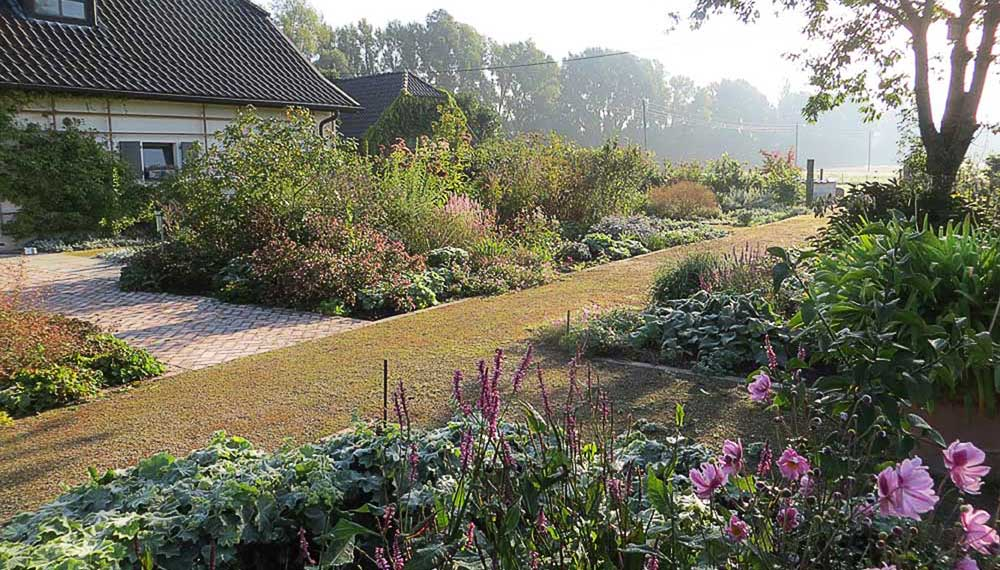 long border van viller the garden